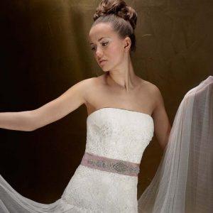 Svadobné šaty - Model 98470
