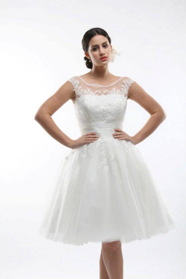 Svadobné šaty - Model B5290L