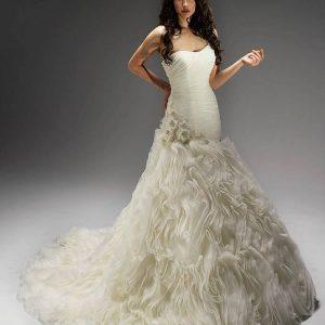 Svadobné šaty - Model 11373