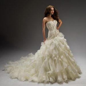 Svadobné šaty - Model 11323