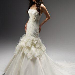 Svadobné šaty - Model 11204