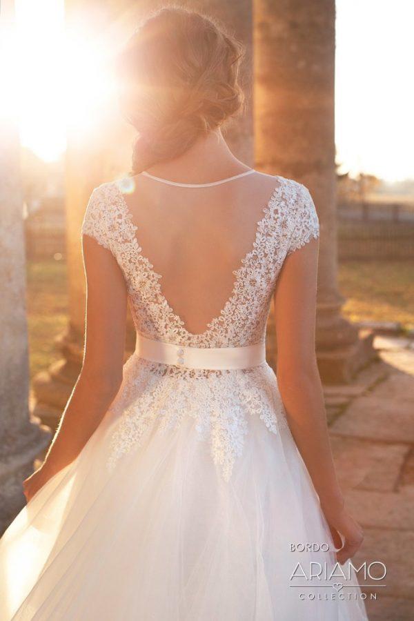 Svadobné šaty - Bordo