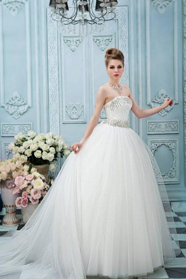 Svadobné šaty - Model E5297