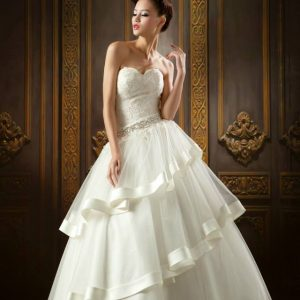 Svadobné šaty - Model E5312
