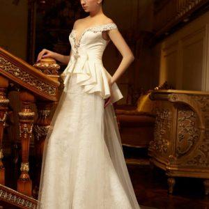 Svadobné šaty - Model E5415